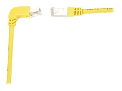 Black Box SpaceGAIN Down to Straight - patch cable - 3 m - yellow