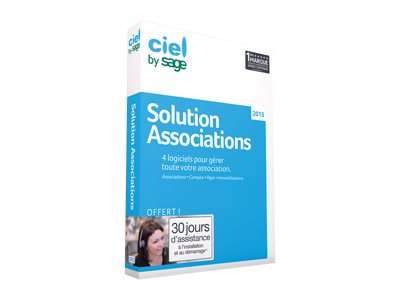 Ciel La Solution Associations 2015 - ensemble de boîtes