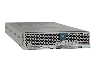 Cisco UCS B230 M2 Blade Server Server blade 2-way 2 x Xeon E7-2870 / 2.4 GHz RAM 128 MB