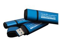 Kingston DataTraveler Vault Privacy 3.0 - USB flash drive - encrypted - 4 GB - USB 3.0