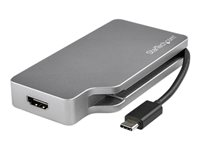 StarTech.com USB C Multiport Adapter - Space Gray