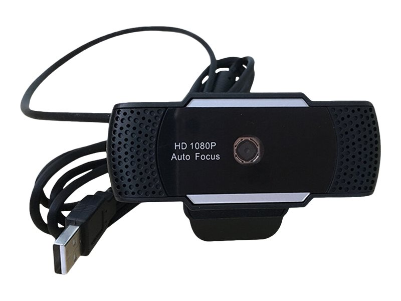 Hd 1080P Webcam Auto Focus Usb Power Plug & Play