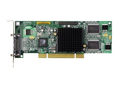 Matrox Millennium G550 LP PCI - Grafikkarten - MGA G550 - 32 MB DDR - PCI / 66 MHz Low Profile