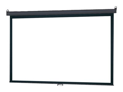 InFocus Manual Pull Down Screen Projection screen ceiling mountable, wall mountable
