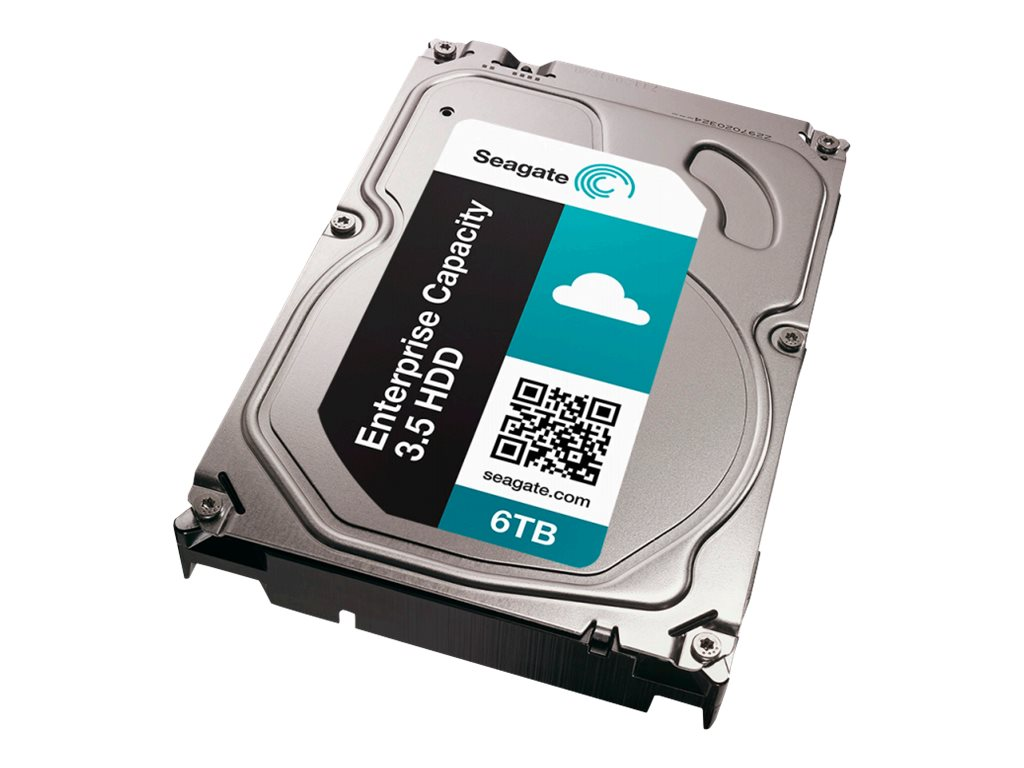 Seagate Enterprise Capacity 3.5 HDD V.4 ST6000NM0034 - hard drive - 6 TB - SAS 12Gb/s