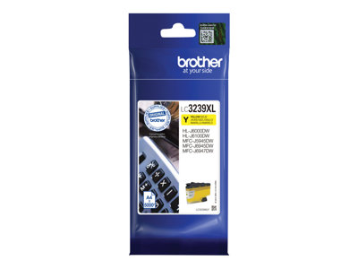 Brother LC 3239XLY Gul 5000 sider