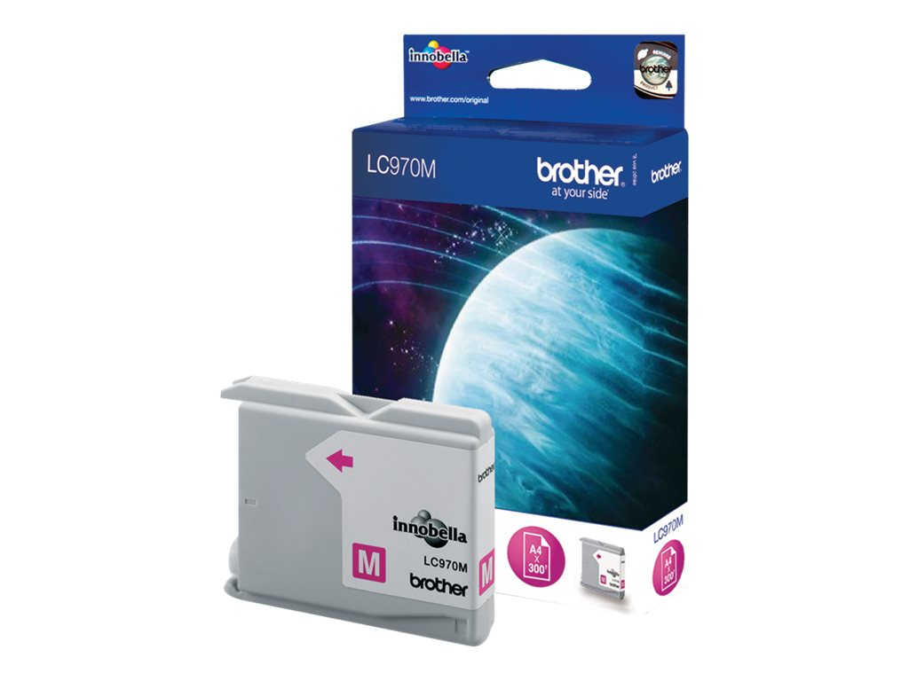 Brother LC970 - magenta - originale - cartouche d'encre