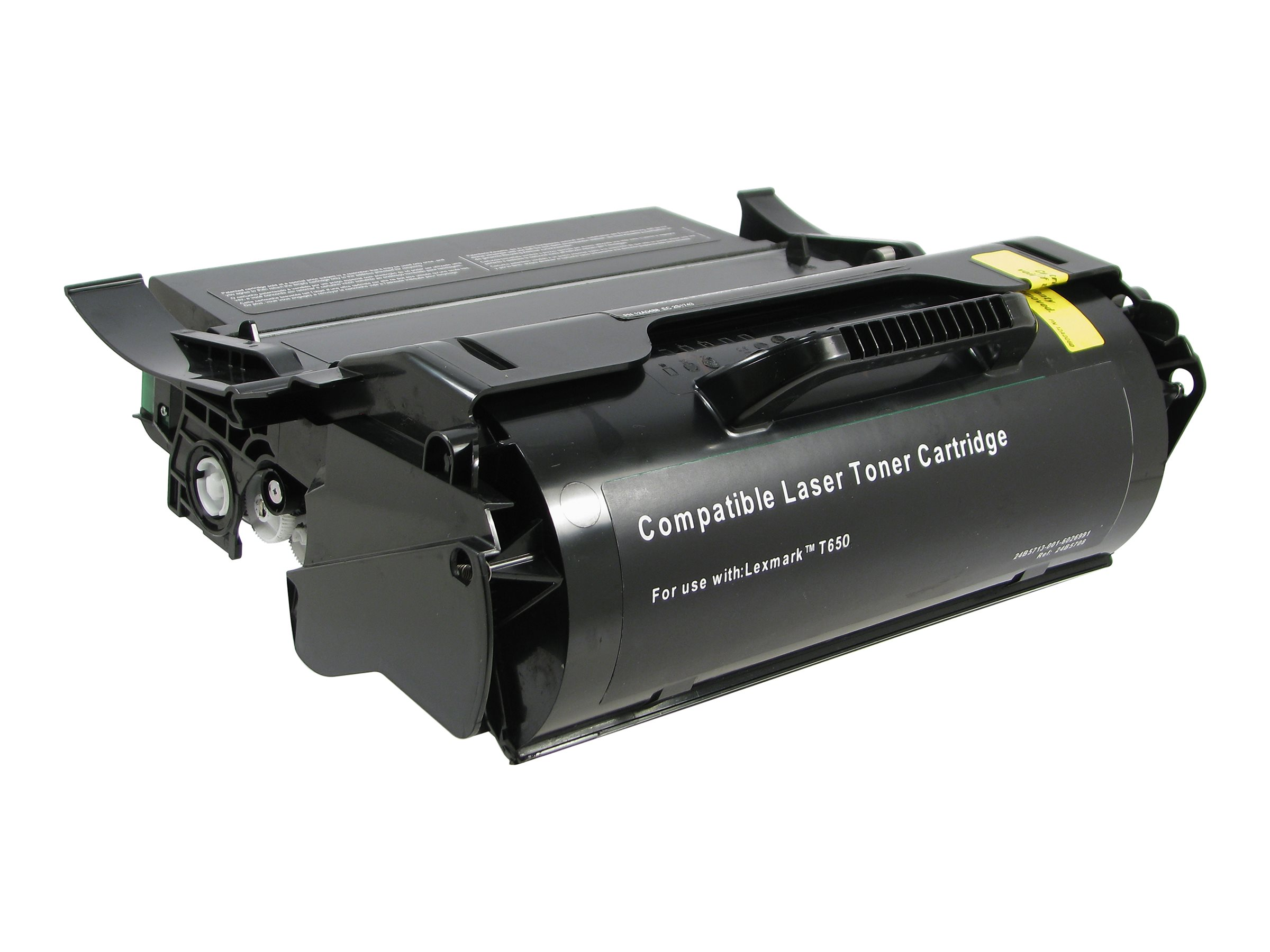 V7 - High Yield - black - toner cartridge (alternative for: Lexmark T650H11A)