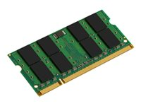Kingston - DDR2 - 1 Go - SO DIMM 200 broches - 667 MHz / PC2-5300 - CL5 - 1.8 V - memoire sans tampon - non ECC - pour Apple iMac; MacBook; MacBook Pro
