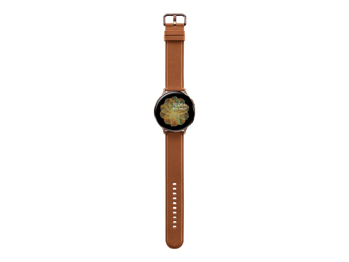 Samsung Galaxy Watch Active 2 - gold stainless steel - smart watch with band - 4 GB - not specified