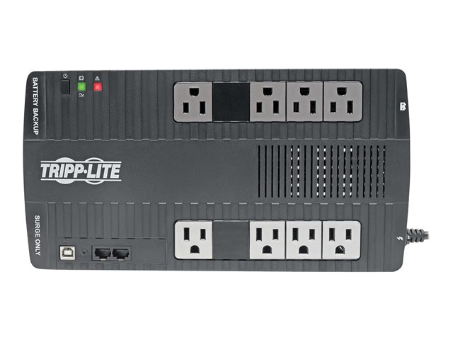 Tripp Lite UPS 700VA 350W Desktop Battery Back Up AVR Compact 120V USB RJ11 50/60Hz