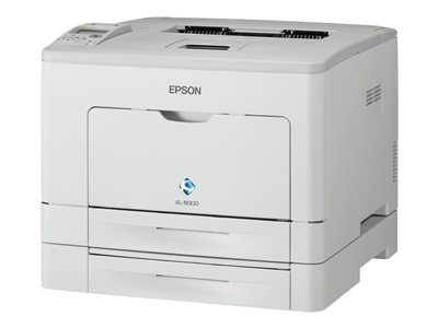 Epson WorkForce AL-M300DTN - Printer - monochrome - Duplex - laser - A4/Legal - 1200 dpi - up to 35 ppm - capacity: 550 sheets - parallel, USB, Gigabit LAN  With 3yr Epson Cover Plus Onsite Service Warranty