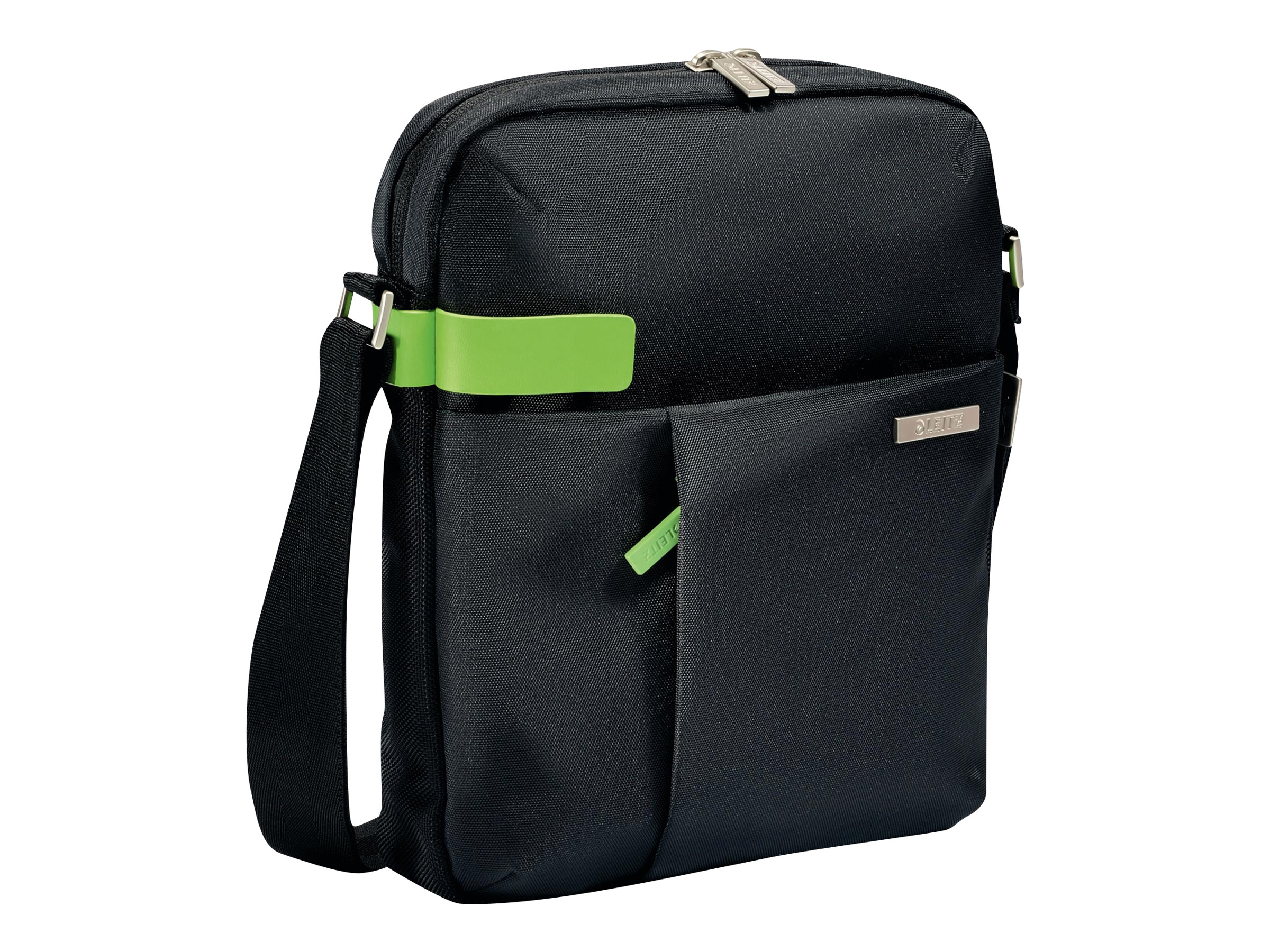 Leitz Complete Tablet Smart Traveller - Schultertasche für Tablet / eBook-Reader - Metall, Polyester - Schwarz