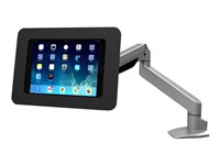 "Compulocks Rokku Reach iPad 9.7"" / Galaxy Tab A 9.7"" / S2 9.7"" / S3 9.7"" Counter Top Articulating Arm Black - Mounting kit (desk stand, anti-theft ..."