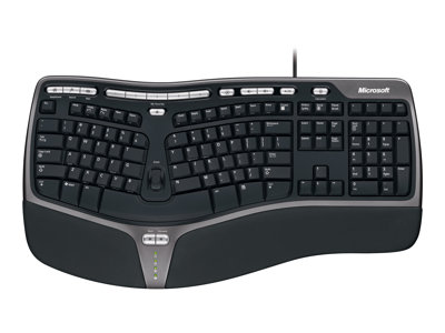 Microsoft Natural Ergonomic Keyboard 4000 Keyboard USB English North