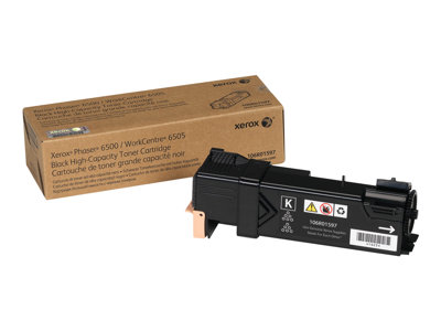 Xerox Phaser 6500 High Capacity black original toner cartridge