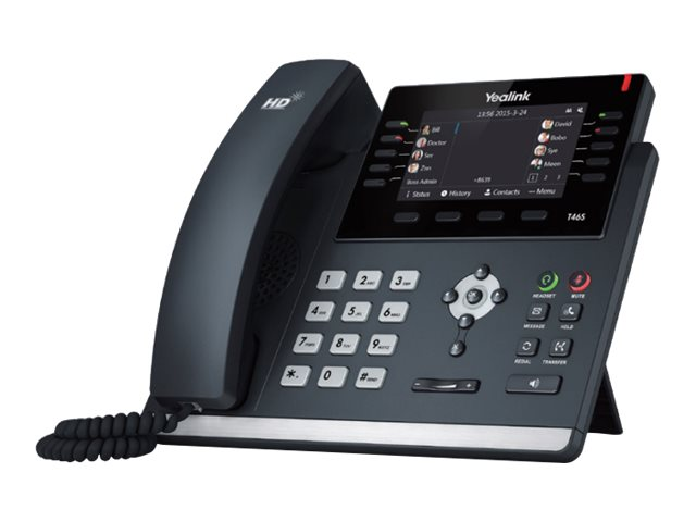 Yealink SIP-T46S - Skype for Business Edition - VoIP-Telefon - SIP, SIP v2 - 16 Zeilen