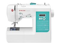 Singer Stylist 7258 - Sewing machine - 100 stitches - 6 one-step buttonholes