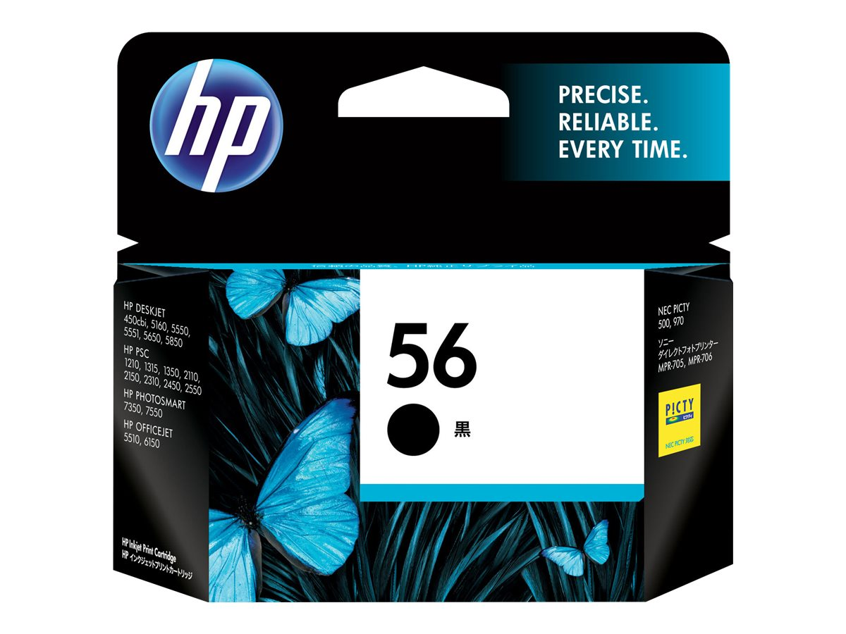 HP 56 - black - original - ink cartridge