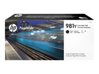 HP 981Y - 343.5 ml - à rendement extrêmement élevé - noir - originale - PageWide - cartouche d'encre - pour PageWide Enterprise Color MFP 586; PageWide Managed Color E55650