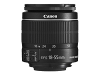 Canon EF-S - Zoom lens - 18 mm - 55 mm - f/3.5-5.6 IS II - Canon EF-S