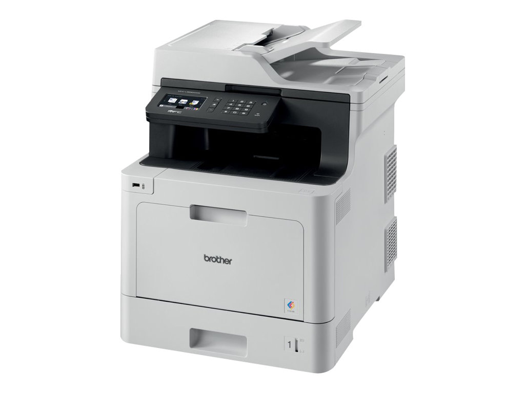 Brother MFC-L8690CDW - Imprimante multifonctions - couleur - laser - 215.9 x 355.6 mm (original) - A4/Legal (support) - jusqu'à 31 ppm (impression) - 300 feuilles - 33.6 Kbits/s - USB 2.0, Gigabit LAN, Wi-Fi(n), hôte USB