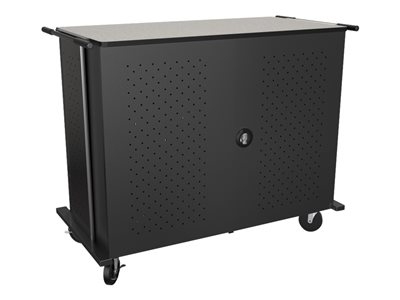 MooreCo Odyssey High Capacity Cart (charge only) for 48 netbooks/tablets lockable