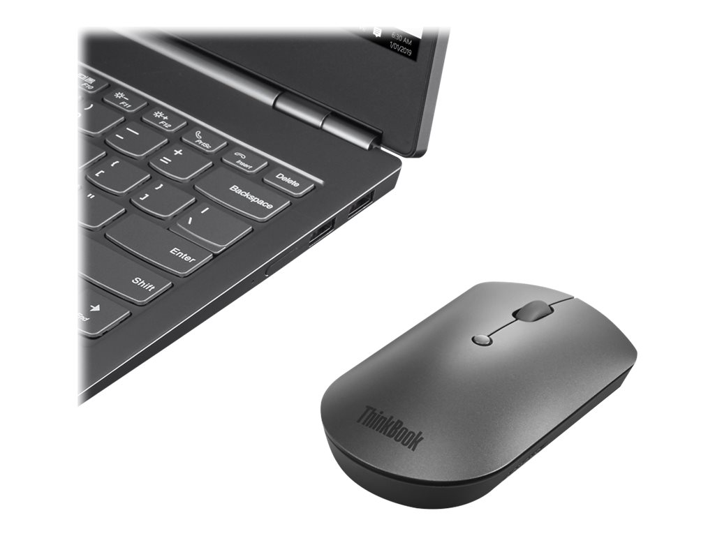 Lenovo ThinkPad Silent - mouse - Bluetooth 5.0 - iron gray