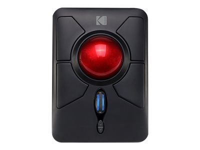 Kodak iMouse Q50 Trackball ergonomic right and left-handed optical 7 buttons wireless