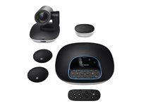 Logitech GROUP HD Video Conferencing System Bundle with Expansion Mics - Video conferencing kit - with Logitech Expansion Microphones