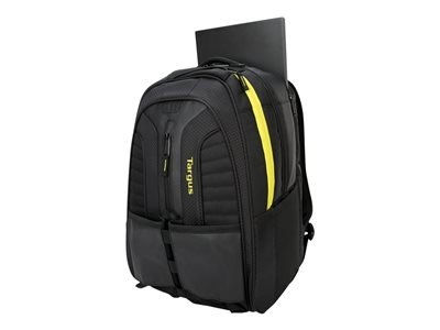 Targus Work + Play Rackets Notebook carrying backpack 15.6INCH 16INCH black