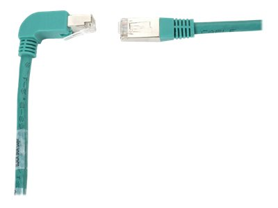 Black Box SpaceGAIN Down to Straight - patch cable - 1.8 m - green