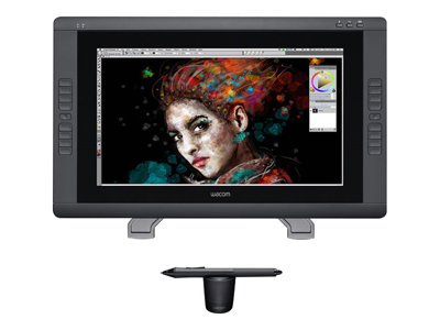 Wacom Cintiq 22HD Sort