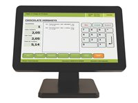 Bematech LE1015W LCD monitor 15.6INCH touchscreen 1366 x 768 200 cd/m² 600:1 12 ms