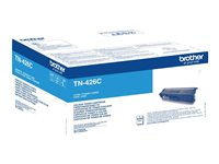 Brother TN426C - Super Jumbo - cyan - originale - cartouche de toner - pour Brother HL-L8360CDW, MFC-L8900CDW