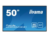 "iiyama ProLite LE5040UHS-B1 - 50"" Class LED display"