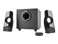 Cyber Acoustics CURVE Series CA-3050 Blast Speaker system for PC 2.1-channel -