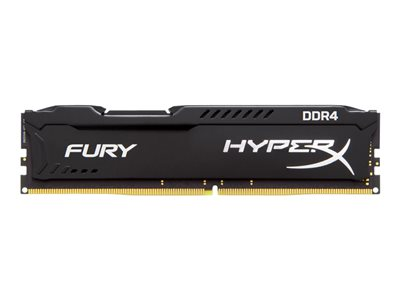 HyperX FURY - DDR4 - 32 GB: 2 x 16 GB - DIMM 288-PIN - senza buffer