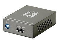 LevelOne HDSpider HVE-9000 HDMI Cat.5 Receiver (Long) - video extender - HDMI