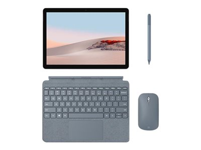 Microsoft TDSourcing Surface Go Type Cover - keyboard - with trackpad, accelerometer - QWERTY - English - ice blue