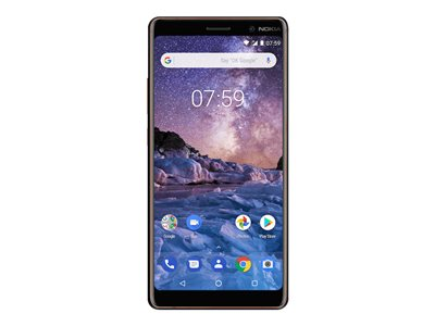 Nokia 7 plus 6' 64GB 4G Sort