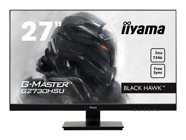 Image of iiyama G-MASTER Black Hawk G2730HSU-B1 - LED monitor - Full HD (1080p) - 27""