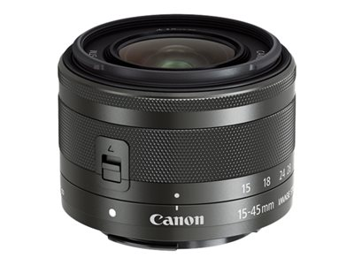 Canon EF-M Zoom lens 15 mm 45 mm f/3.5-6.3 IS STM Canon EF-M