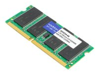 AddOn DDR3 4 GB SO-DIMM 204-pin 1333 MHz / PC3-10600 CL9 1.5 V unbuffered non-ECC