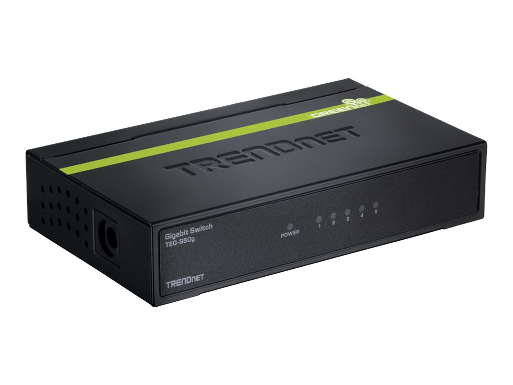 TRENDnet TE100 S50g - switch - 5 ports