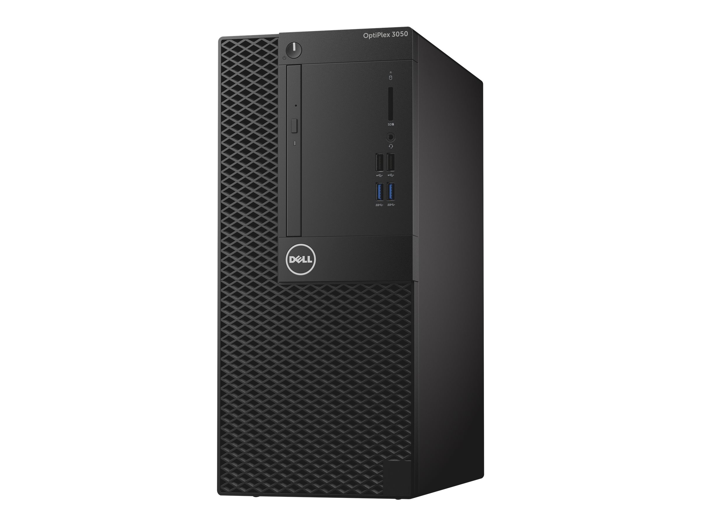 Dell OptiPlex 3050 - MT - 1 x Core i5 7500 / 3.4 GHz - RAM 4 GB - HDD 500 GB - DVD-Writer