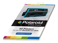 Polaroid Z-Axis Sheets - 15-pack - 3D print base protection adhesive sheets (3D) - for Polaroid ModelSmart 250S