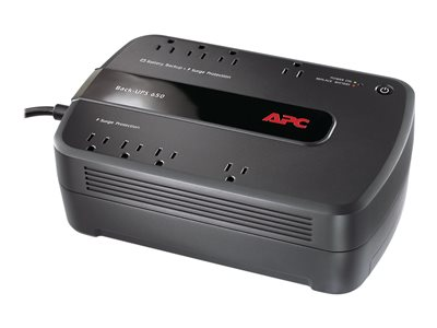 APC Back-UPS 650 UPS AC 120 V 390 Watt 650 VA USB output connectors: 8