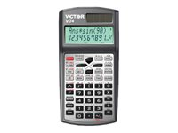 Victor V34 Scientific calculator 10 digits + 2 exponents solar panel, battery -