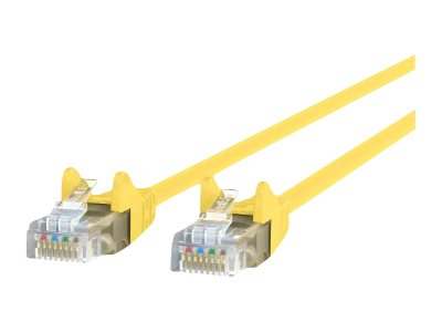 Belkin patch cable - 3 m - yellow - B2B